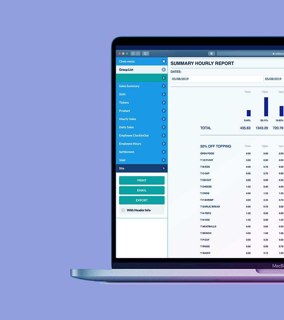 Online Report Website